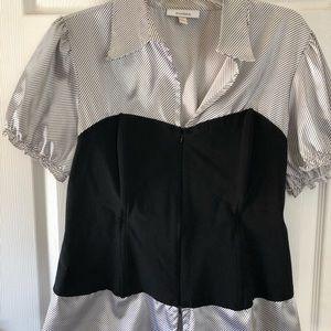 Dress Barn woman's corset satin top